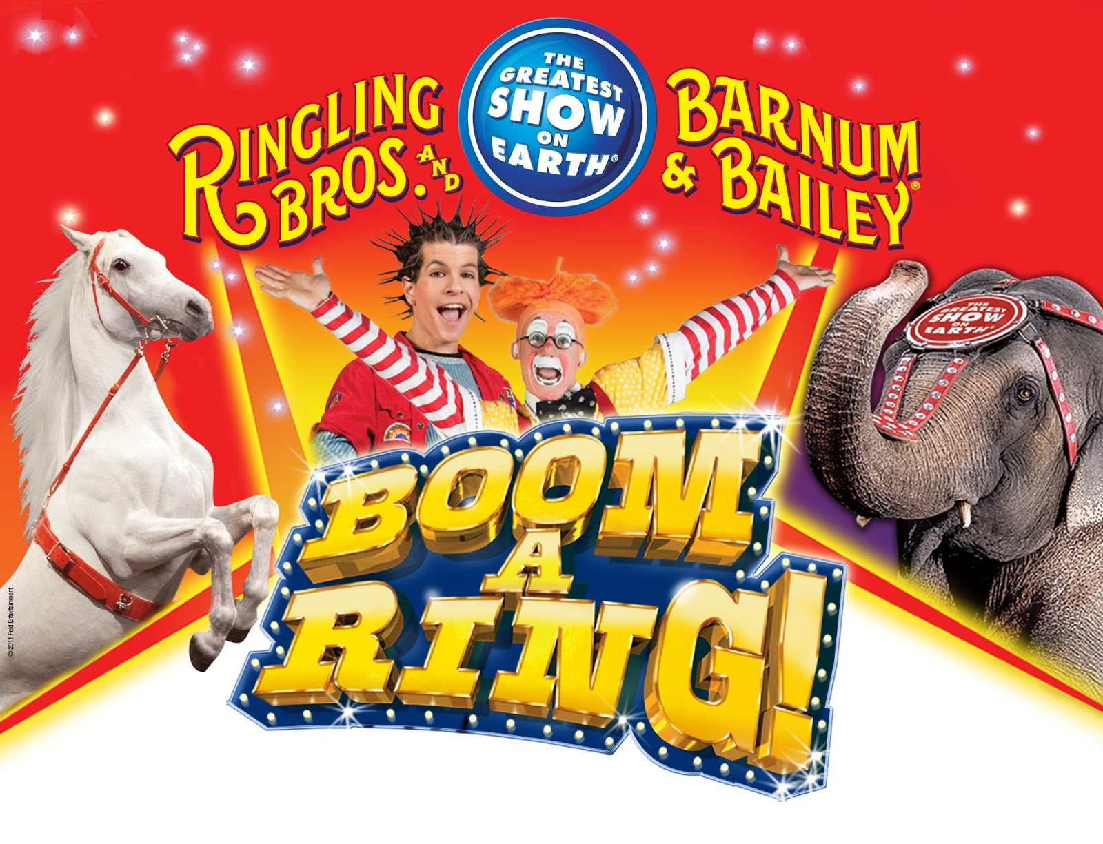 If you are seeking for fun performances with animals and clowns, you can come to Cow Palace in San Francisco to contemplate the Ringling Brothers Barnum & Bailey Circus.