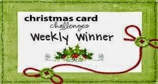 Christmas Card Weekly Winner Challenge #3