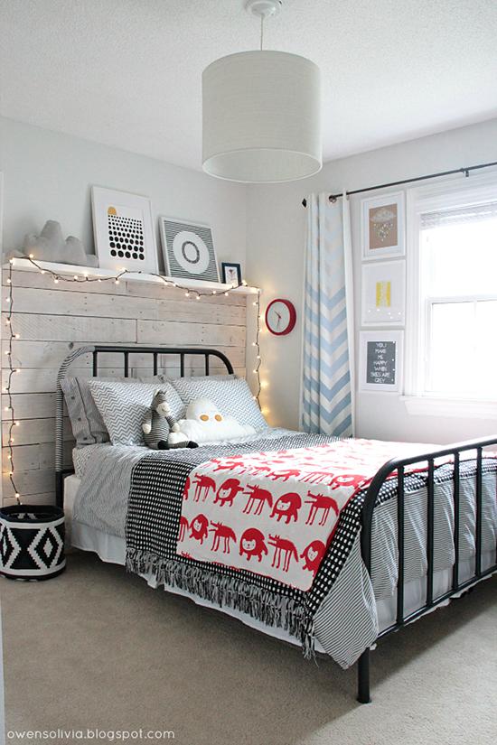 Deco peques decora con una cama de hierro ni o o ni a boho deco chic - Medidas de camas infantiles ...