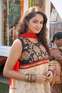 Asmita Sood Latest Pictures in Salwar Kameez at at Aa Aiduguru Movie Opening 0005