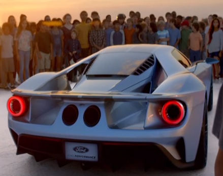 Ford Gt Commercial  Magnetic Power