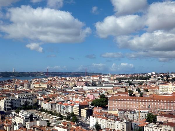 Lisbonne Lisboa belvédère mirador de sehnora do monte