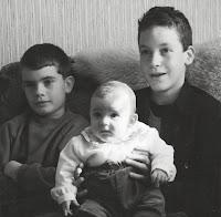 Mes trois petits chéris en 1997...