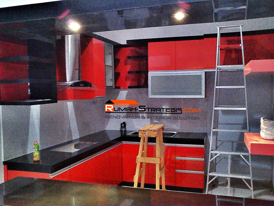 Agen Dinding 3d Pertama Di Pekanbaru Kitchen Set Mini Bar Ibu Tini