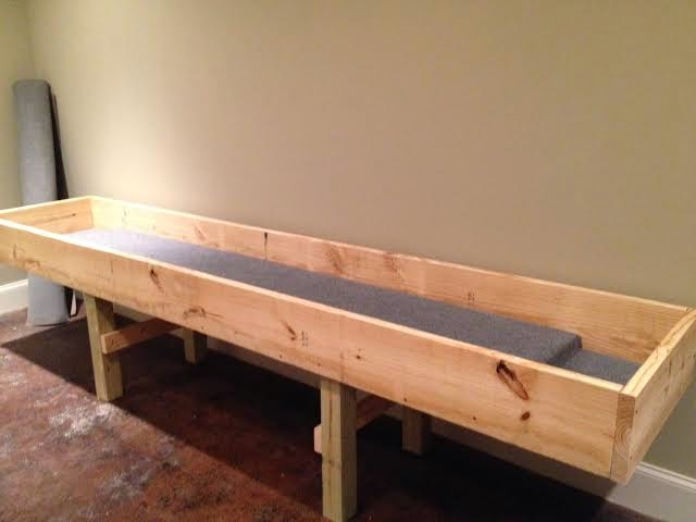 Youth Story: How to Build a Carpetball Table Part 2 (Carpet Ball)