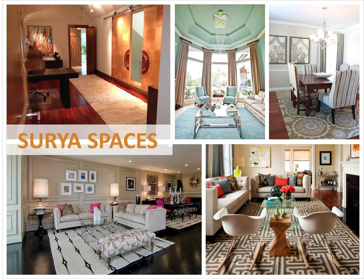 Interior design society online portfolio enter the surya for Interior design association