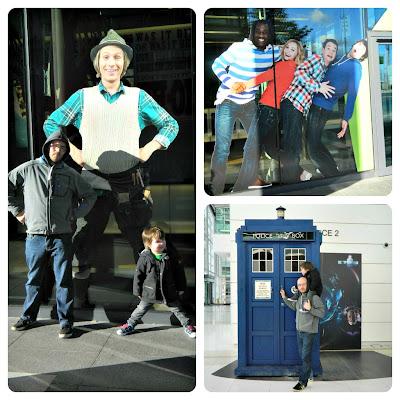 BBC Studios MediaCity cBeebies Dr Who TARDIS