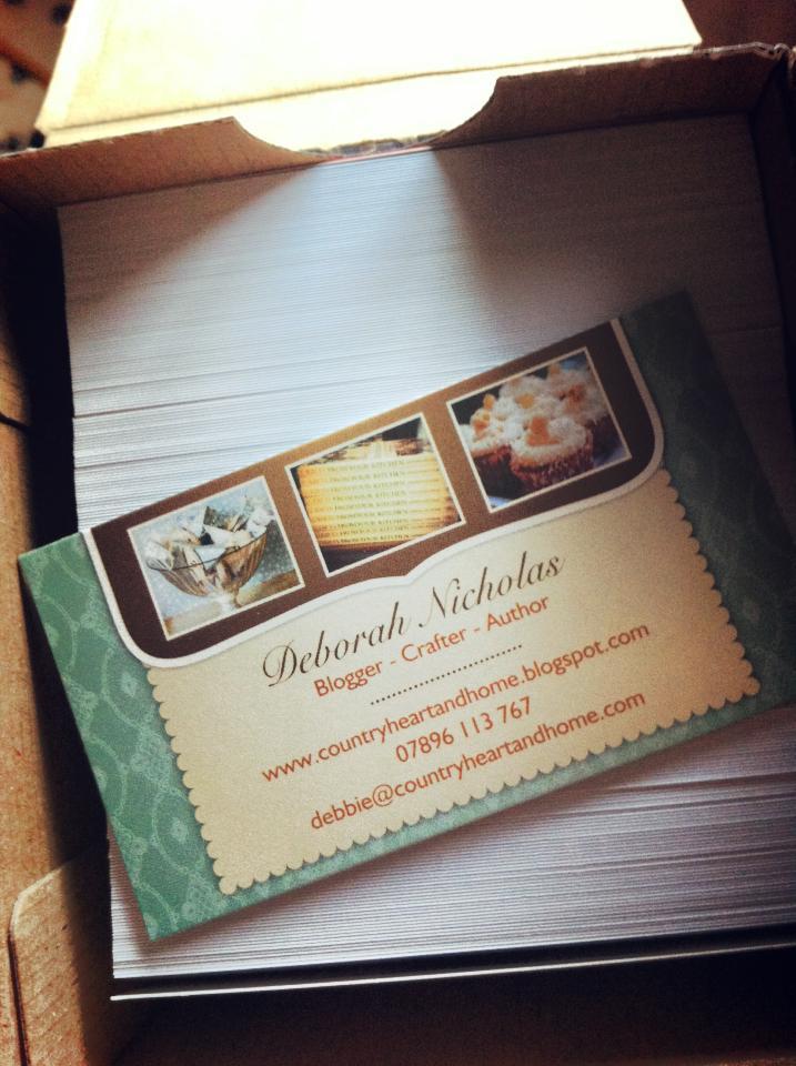 Vistaprint Business Cards Blogger Style