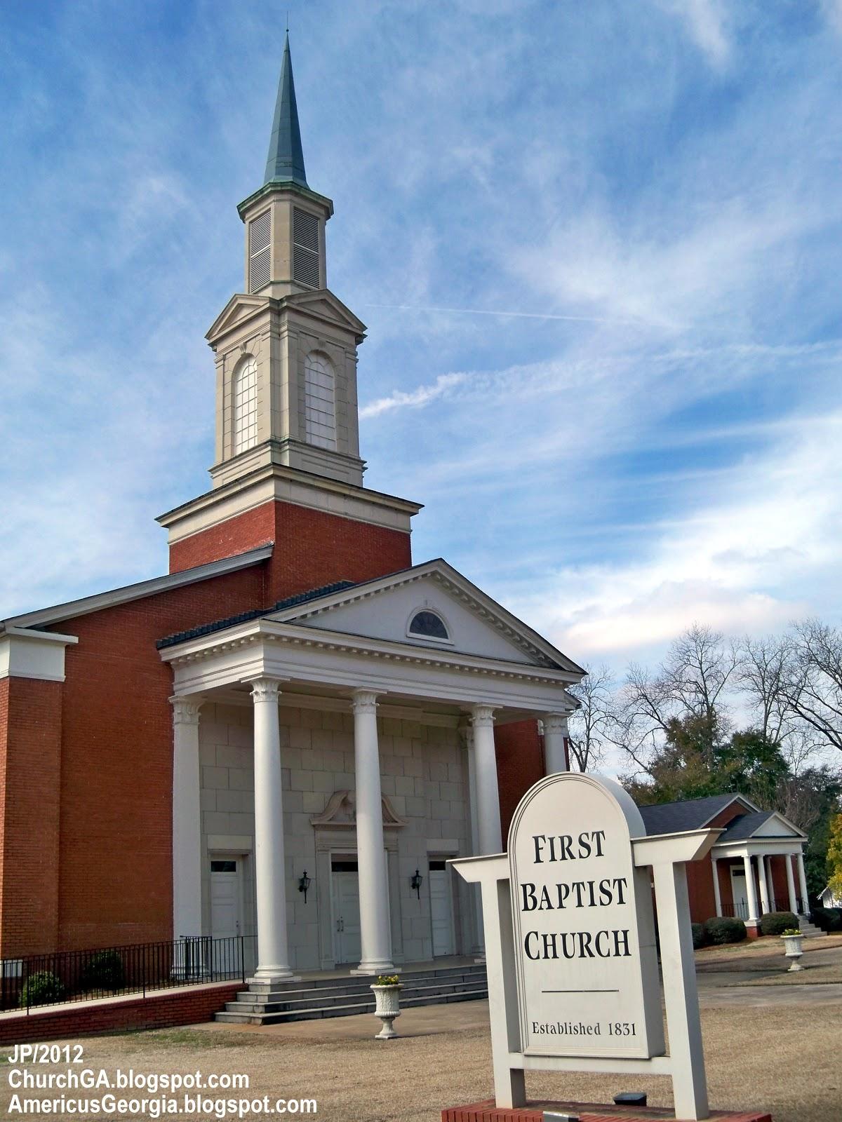 First baptist church americus georgia s lee st first baptist church
