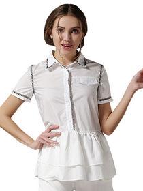 Model dan desain baju kemeja cewek casual terbaru