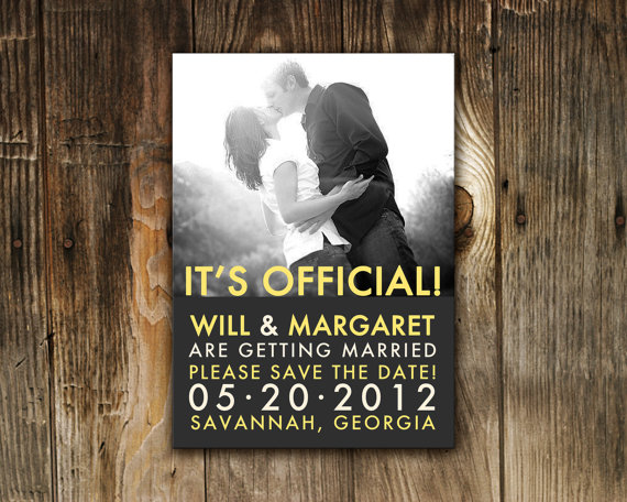 10 Beautiful Wedding Save The Date Ideas A Little Bit Of