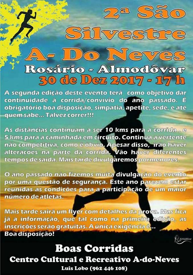 2ª São Silvestre A-dos Neves