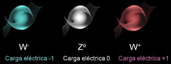 Resultado de imagen de bosones w y z