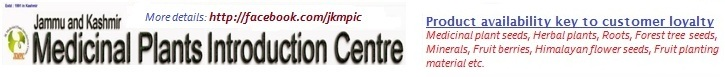 Jammu & Kashmir Medicinal Plants Introduction Centre