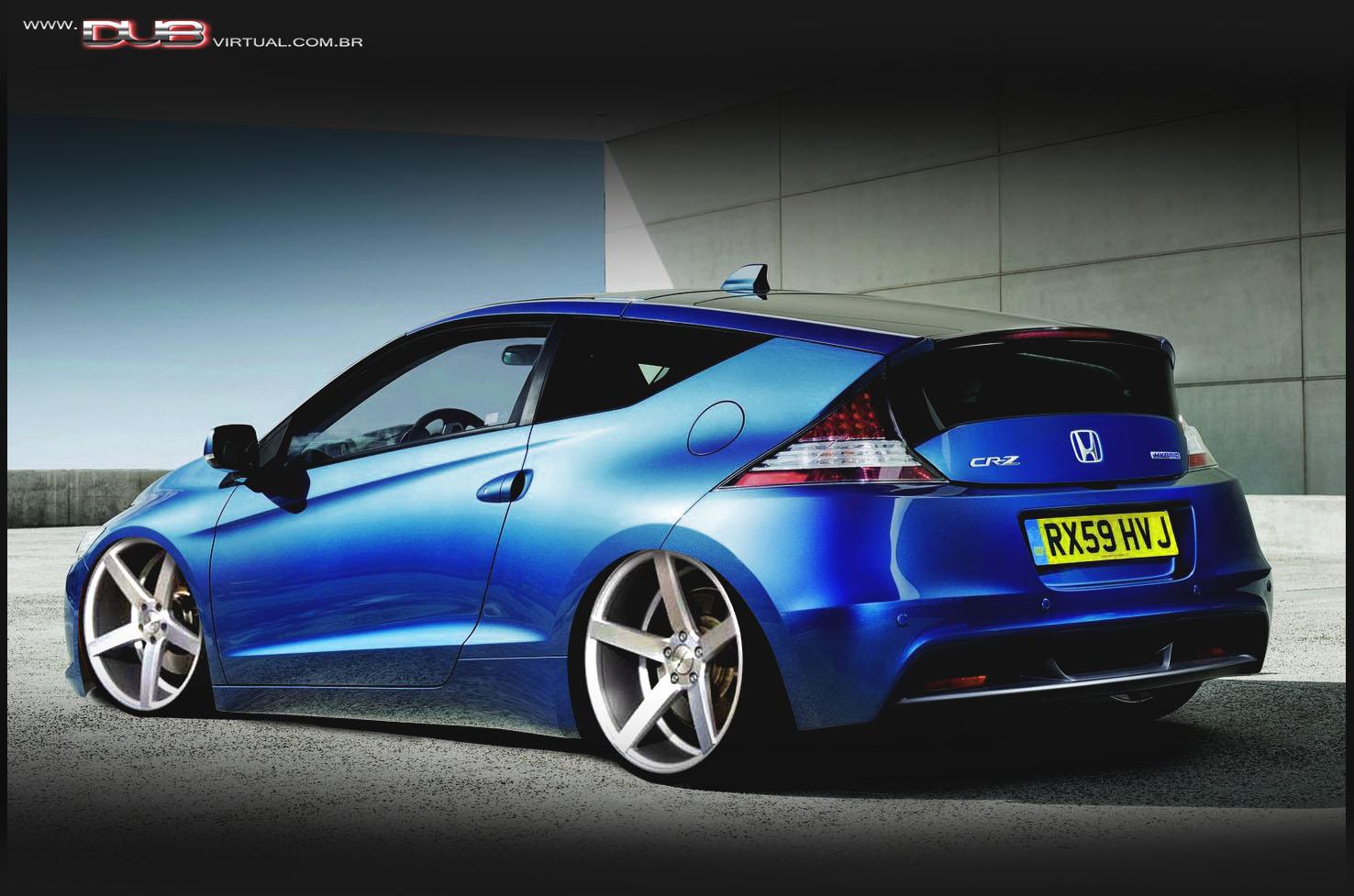 Honda CR Z Rebaixado   Rodas 20 E   Um Visual Ainda Mais Esportivo