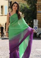 Thamanna, latest, saree, images