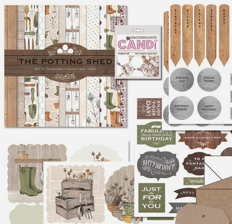 Craftwork Cards - The Potting Shed