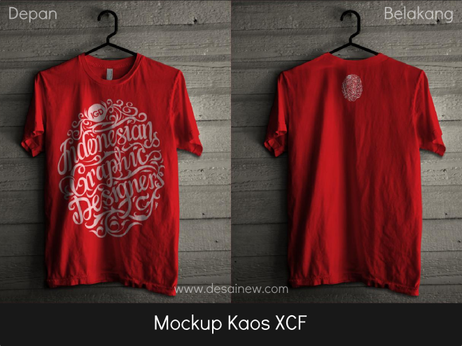 Free download gratis mockup kaos t-shirt xcf, psd untuk gimp, photoshop
