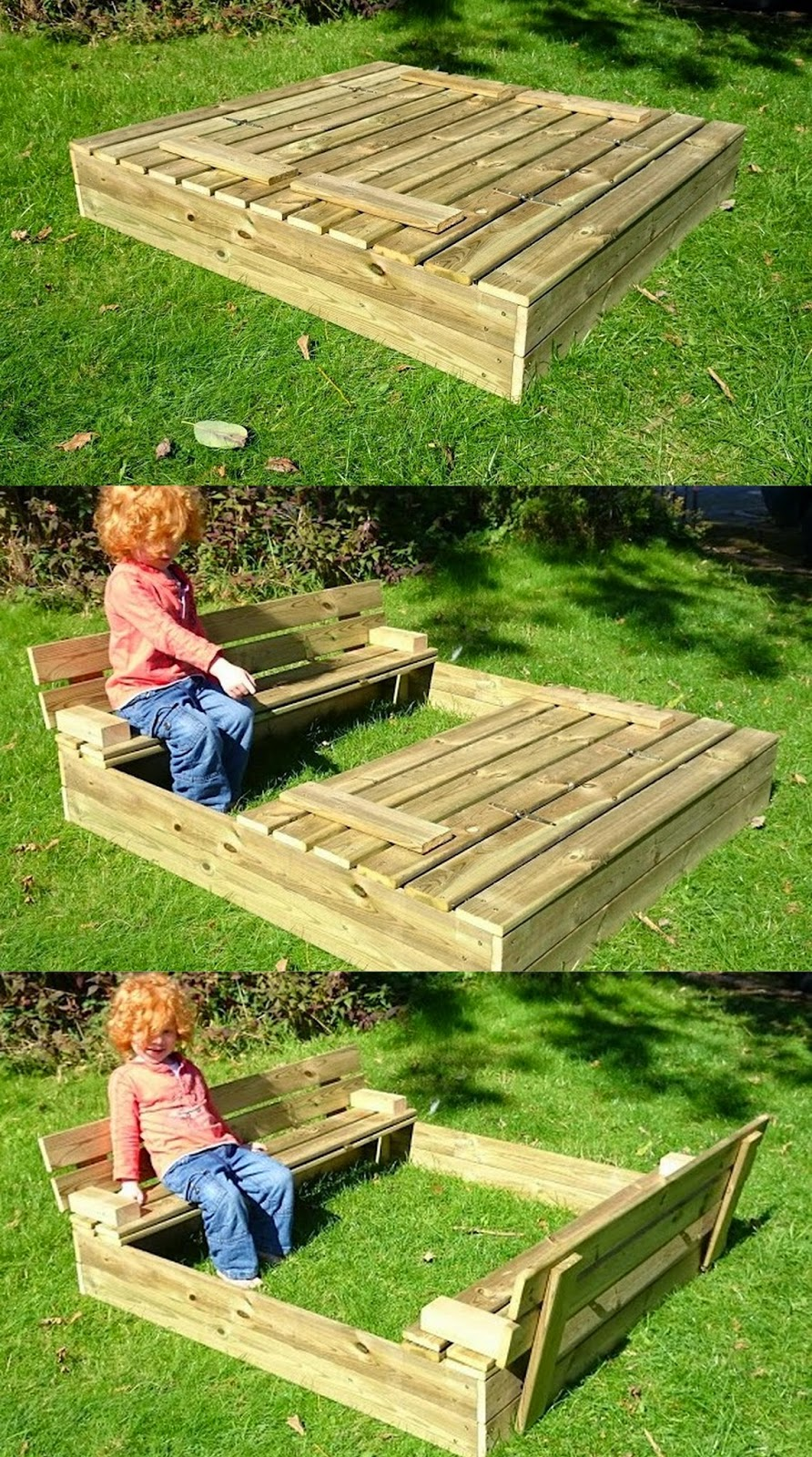 Wickey Flip Sand Pit review sandpit with built in seating