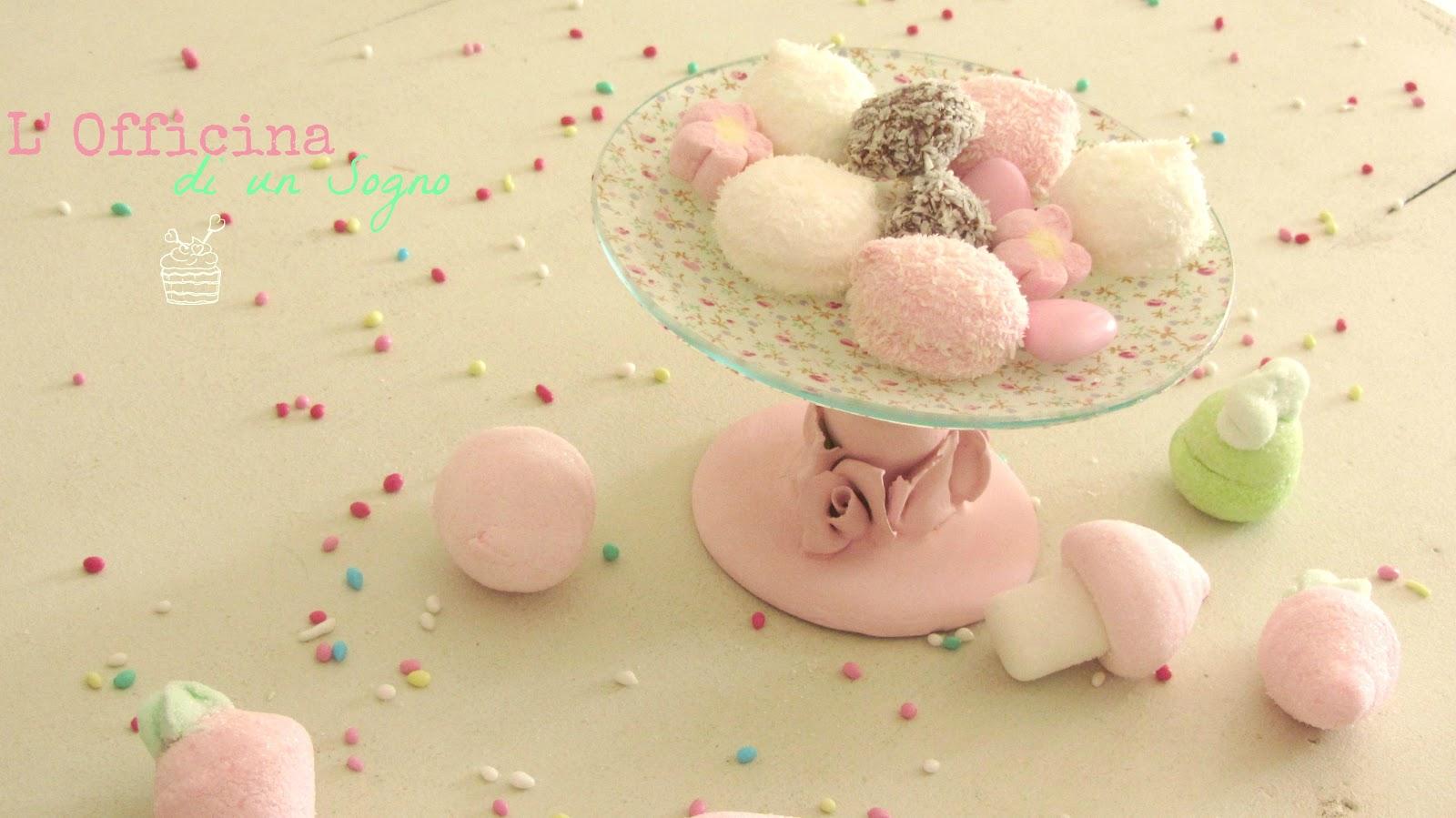 L'officina di un sogno: alzatina per dolci diy