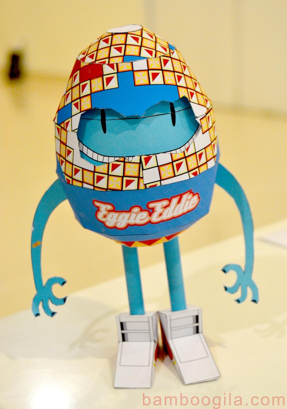 Eggie Eddie Paper Toy
