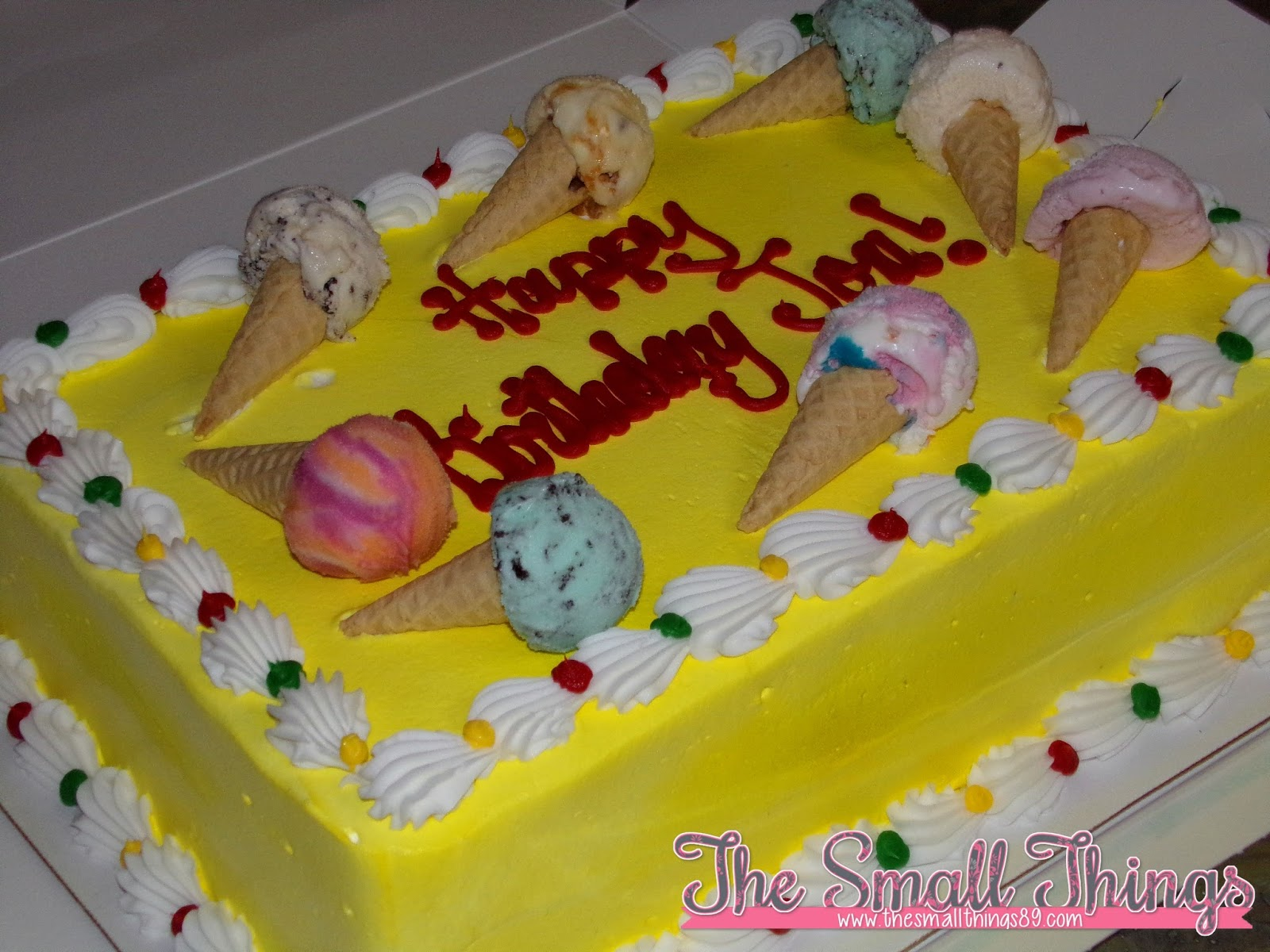 BaskinRobbins Ice Cream Cakes Are Delicious Get One For Your