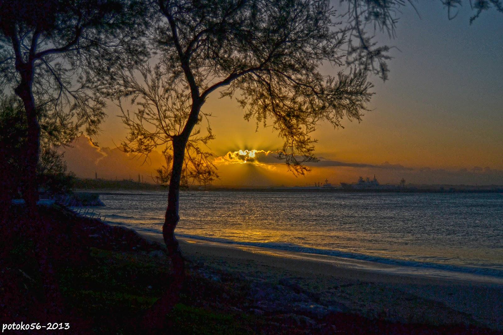 Vista de la salida de sol desde el Chorriilo Rota