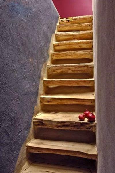 Forlab escaleras - Escaleras de madera rusticas ...