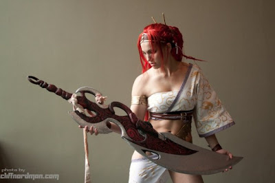 HOT AND SEXY COSPLAY: Heavenly Sword - Nariko pt 2