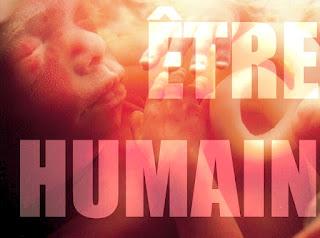 Le foetus est un être humain