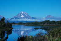 Photo Mt. Moran Grand Teton National Park Wyoming