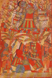 Illustration from a Ramayana Series (?): Battle Scene