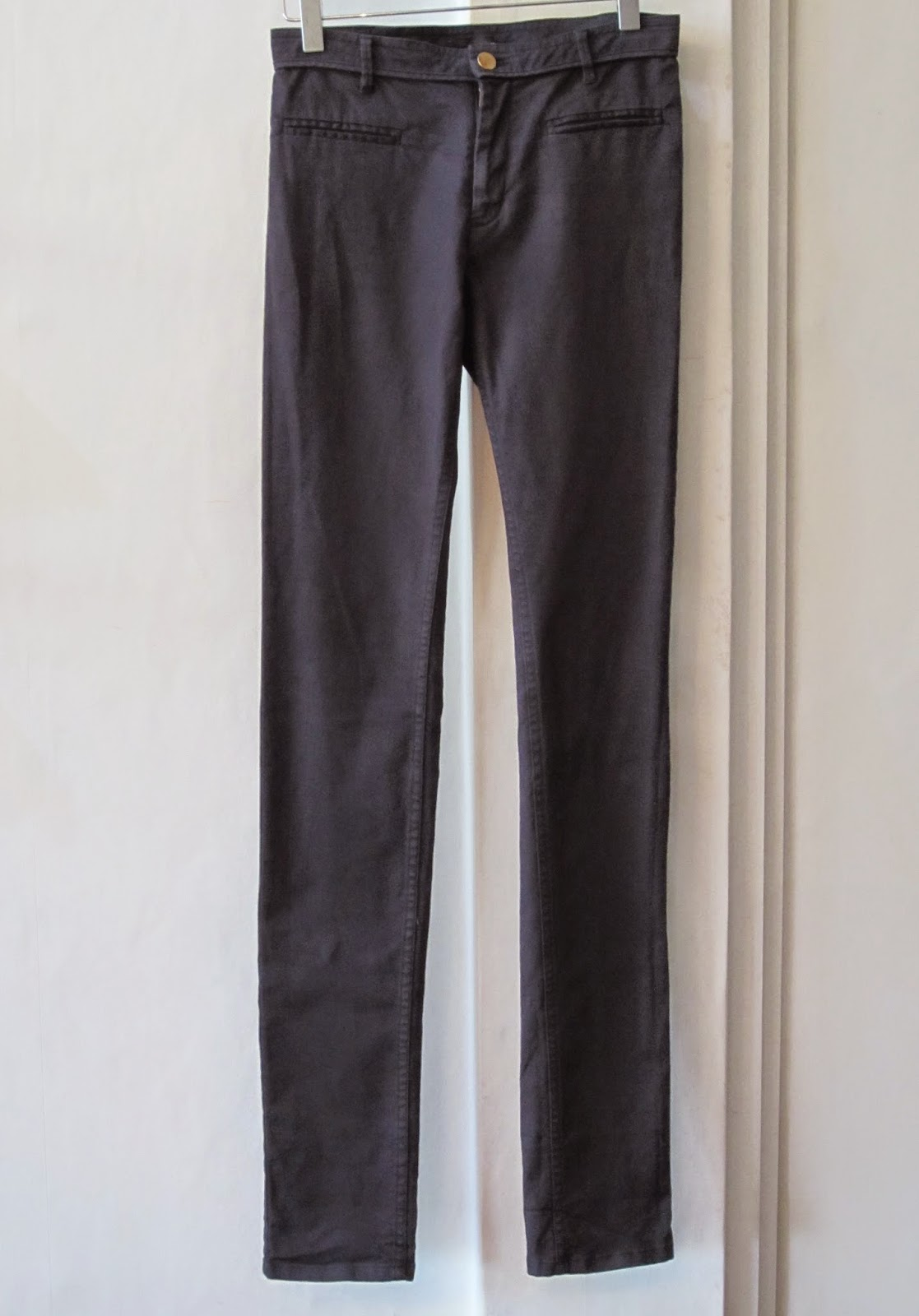 Isabel Marant Navy Blue Trousers