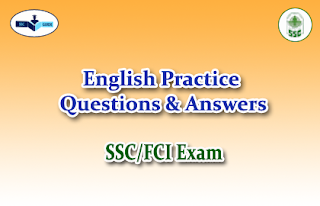 Practice English Questions (Fill in the Blanks)