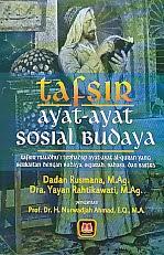 toko buku rahma: buku TAFSIR AYAT-AYAT SOSIAL BUDAYA, pengarang dadan rusmana, penerbit pustaka setia