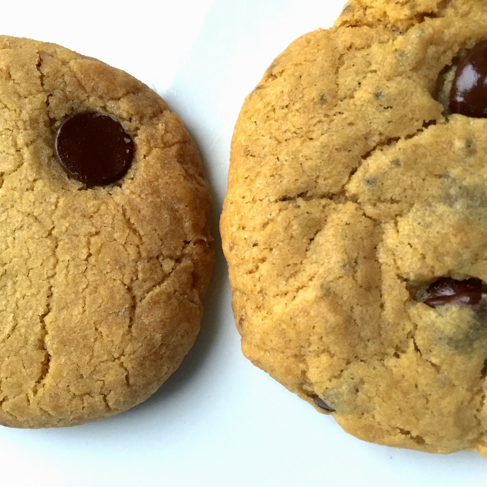 Gluten-free, egg-free, dairy-free chocolate chips cookies