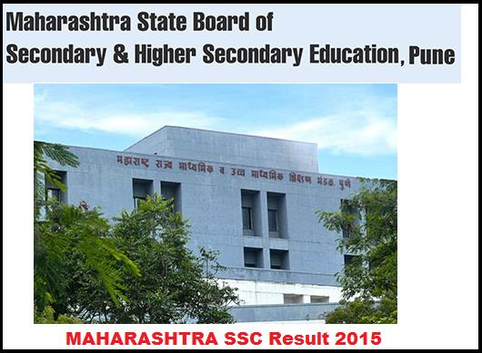 Maharashtra MSBSHSE SSC Class-10th Examination Result 2015