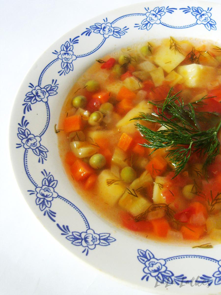 Легкий рецепт супа пошагово