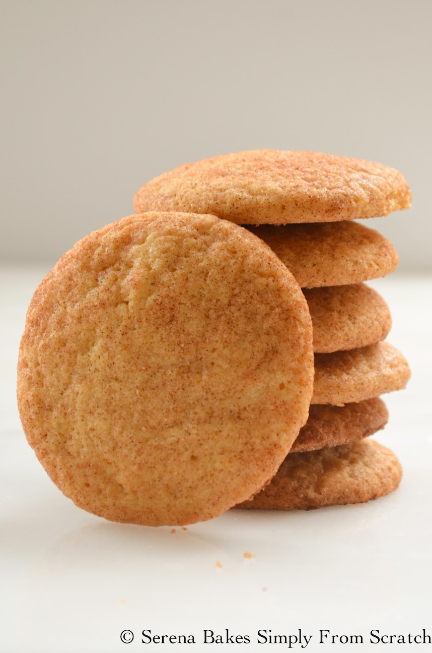 Snickerdoodles are easy to make and always a family fav!