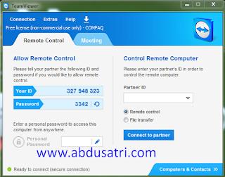 Cara Remote Komputer Dari HP Android Menggunakan Teamviewer