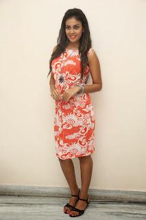 Chandini from move Kiraak in Spicy Orange Dress Lovely Beauty