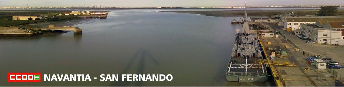 CCOO - NAVANTIA - SAN FERNANDO