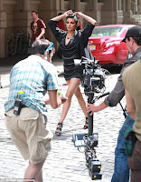 Priyanka Chopra Different look on the sets of BPFT2013 TVC shoot in New York