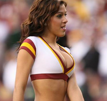 sexy college cheerleaders cleavage
