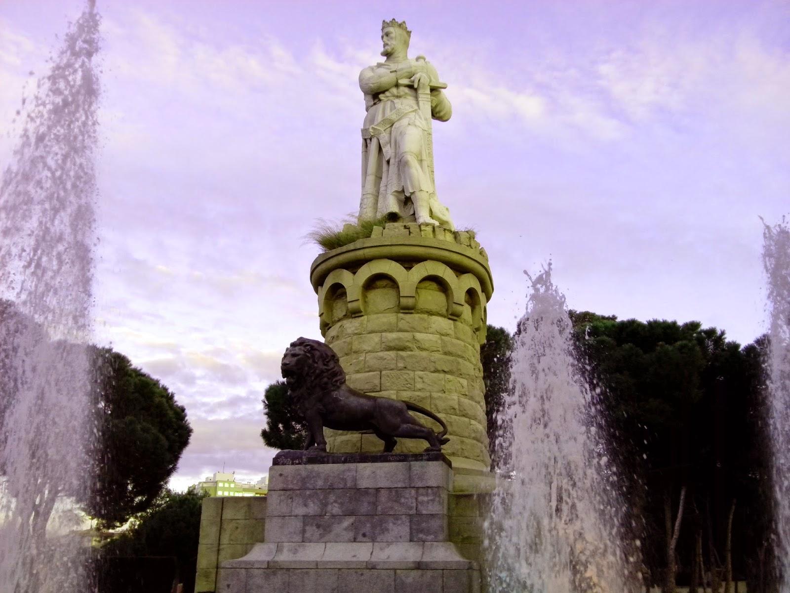 Alfonso I de Aragón el Batallador Parque grande