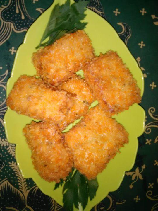 Resep Nugget Ayam dari Roti Tawar