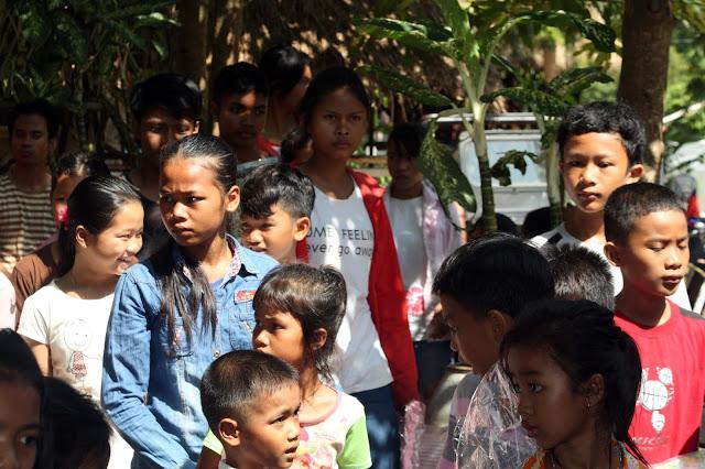 Environ soixante-quinze enfants sont scolarisés