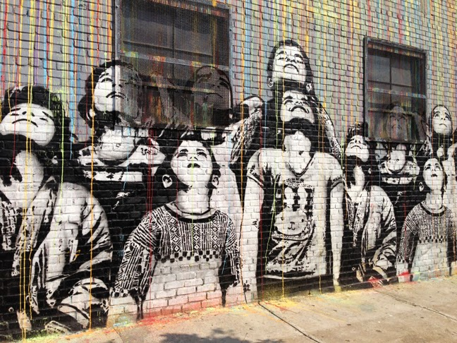 What to see in Williamsburg: street art tour