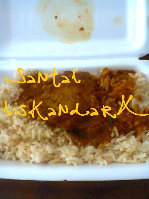 santai, Santai iskandarX, makanan tengahari pilihan iskandarX, Kopi Mahkota Dewa, Smart Coco A+, Nasi Tomato