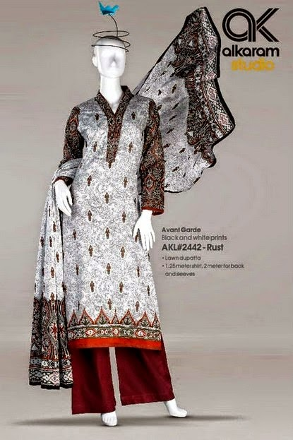 Latest Summer Collection of Alkaram Studio